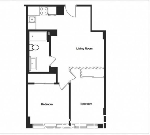 2 Bedrooms, Turtle Bay Rental in NYC for $4,000 - Photo 2