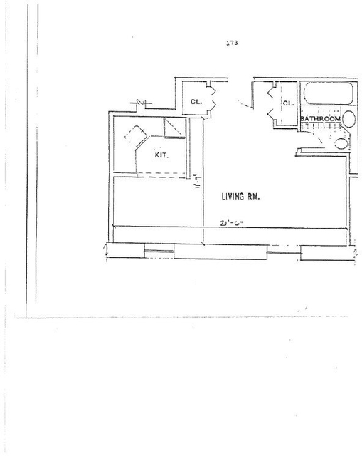 Studio, Upper West Side Rental in NYC for $2,375 - Photo 2