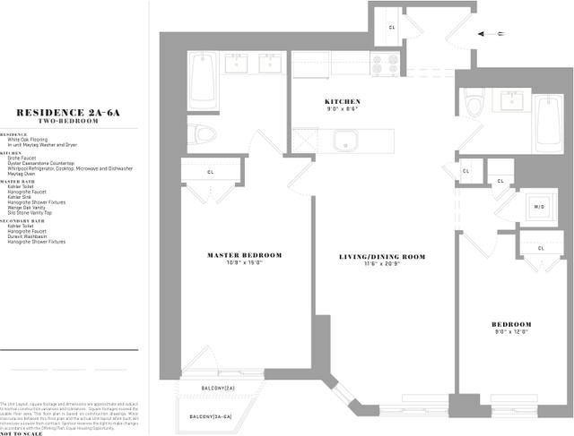 2 Bedrooms, Windsor Terrace Rental in NYC for $4,155 - Photo 2