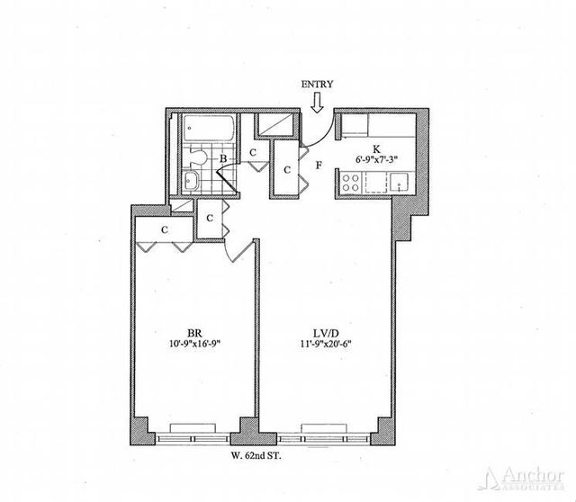 1 Bedroom, Lincoln Square Rental in NYC for $4,550 - Photo 2