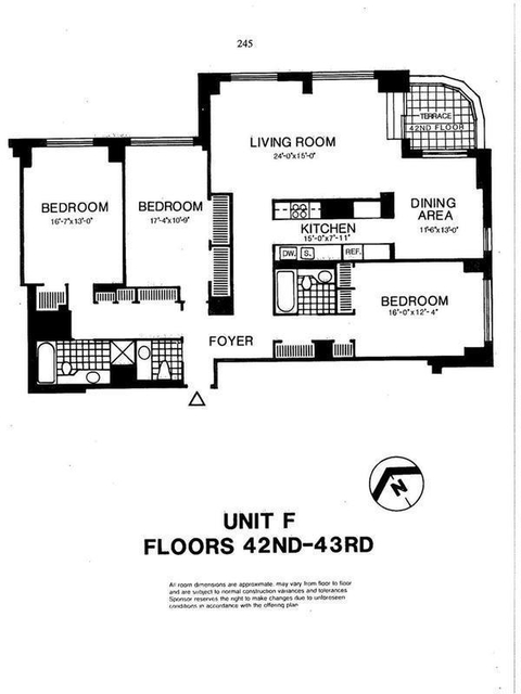 3 Bedrooms, Battery Park City Rental in NYC for $9,500 - Photo 2