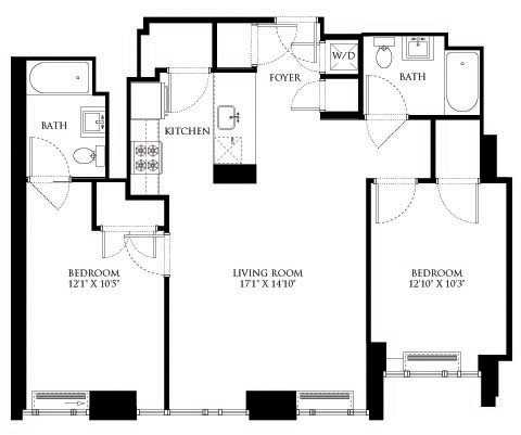 2 Bedrooms, Chelsea Rental in NYC for $6,752 - Photo 2