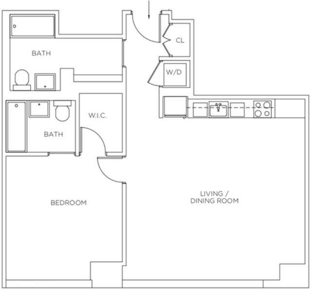 1 Bedroom, Sutton Place Rental in NYC for $5,287 - Photo 2