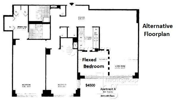 2 Bedrooms, Sutton Place Rental in NYC for $5,700 - Photo 2