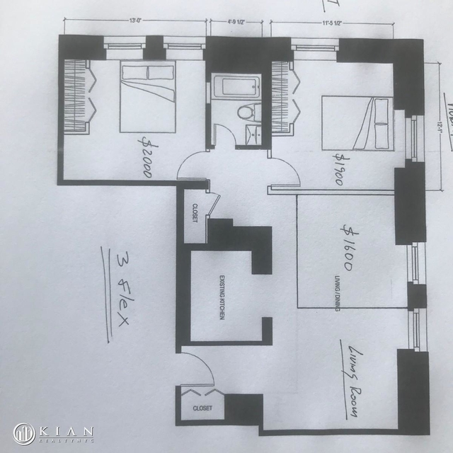 3 Bedrooms, Koreatown Rental in NYC for $5,500 - Photo 1