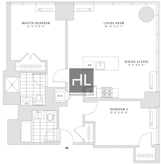 2 Bedrooms, Chelsea Rental in NYC for $6,875 - Photo 2