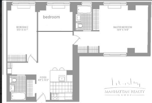 3 Bedrooms, Civic Center Rental in NYC for $5,695 - Photo 2