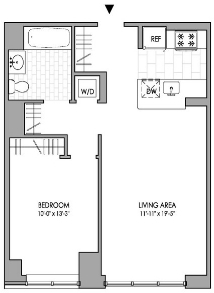 1 Bedroom, Hell's Kitchen Rental in NYC for $4,085 - Photo 2