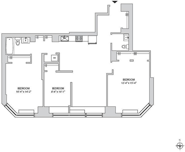2 Bedrooms, Yorkville Rental in NYC for $6,995 - Photo 2