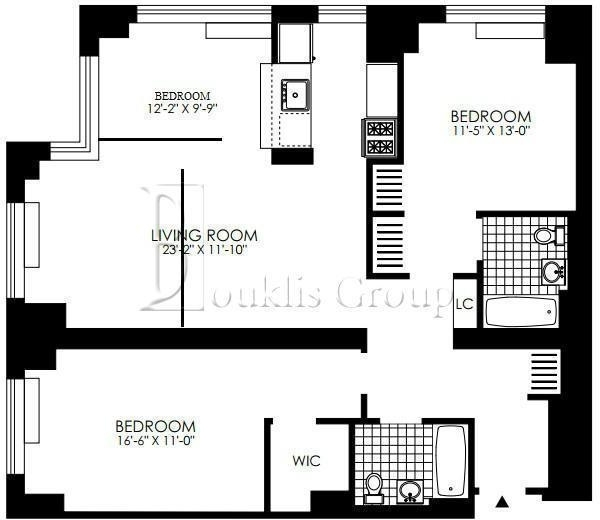 2 Bedrooms, Battery Park City Rental in NYC for $6,800 - Photo 2