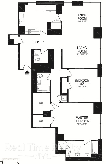 2 Bedrooms, Battery Park City Rental in NYC for $15,000 - Photo 2