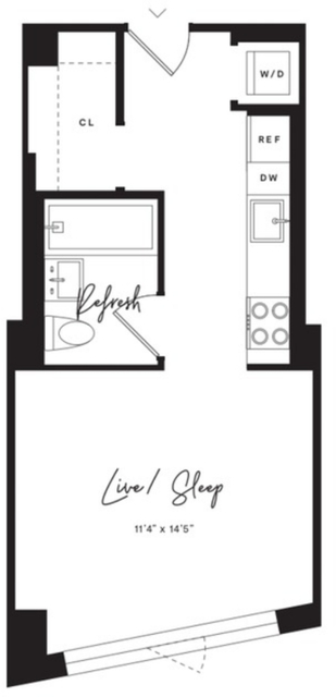 Studio, Flatbush Rental in NYC for $2,295 - Photo 2