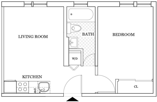 1 Bedroom, Williamsburg Rental in NYC for $3,150 - Photo 1