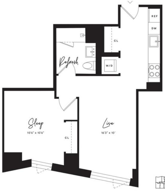 1 Bedroom, Flatbush Rental in NYC for $2,550 - Photo 2