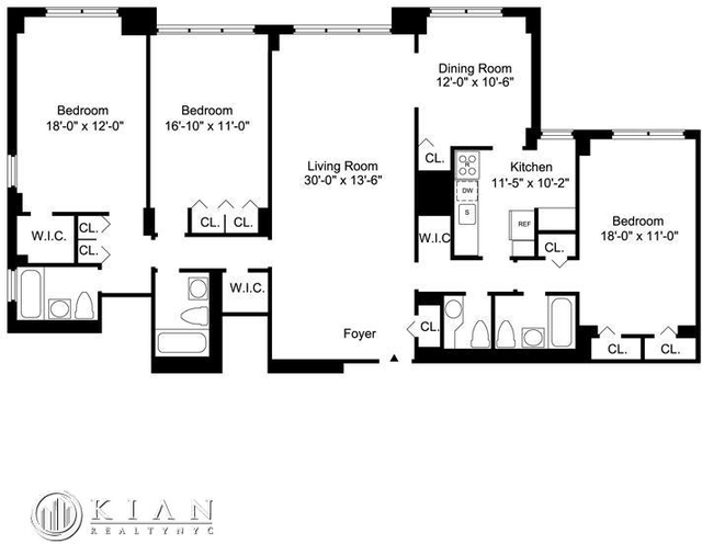 3 Bedrooms, Sutton Place Rental in NYC for $8,995 - Photo 2