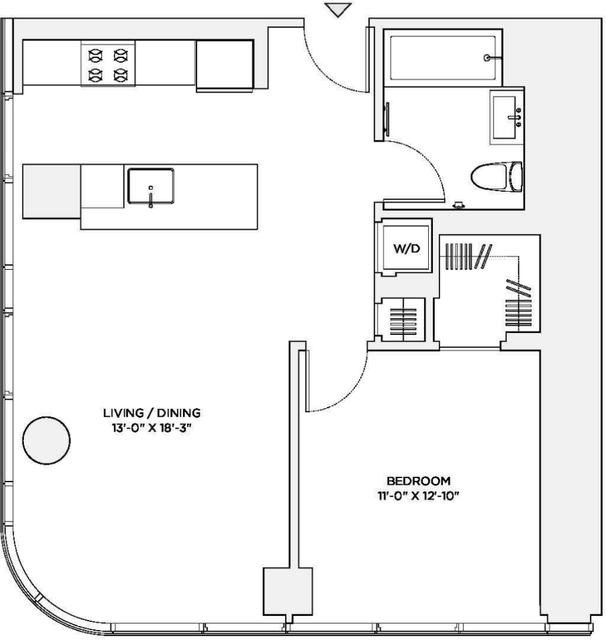 1 Bedroom, Theater District Rental in NYC for $5,400 - Photo 2