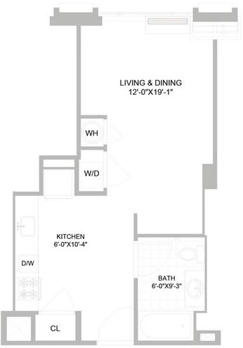 Studio, Williamsburg Rental in NYC for $2,886 - Photo 2