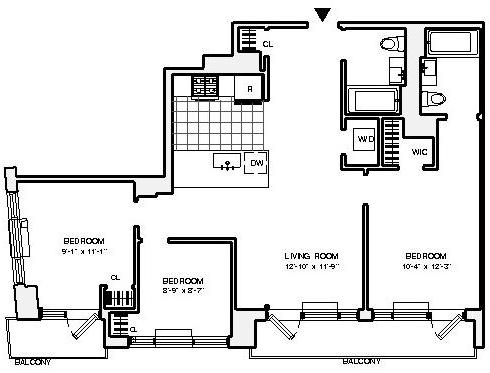 3 Bedrooms, Astoria Rental in NYC for $4,100 - Photo 2