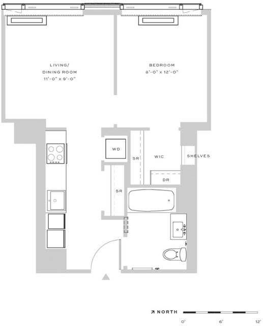 Studio, Downtown Brooklyn Rental in NYC for $3,575 - Photo 2