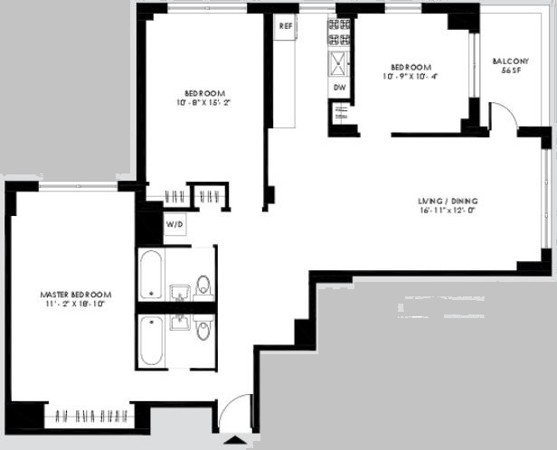 3 Bedrooms, Yorkville Rental in NYC for $6,400 - Photo 2