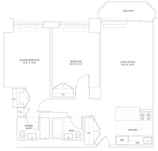 2 Bedrooms, Theater District Rental in NYC for $4,958 - Photo 2