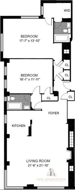 2 Bedrooms, Lincoln Square Rental in NYC for $10,500 - Photo 2