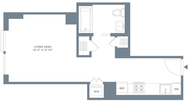 Studio, Financial District Rental in NYC for $3,720 - Photo 2