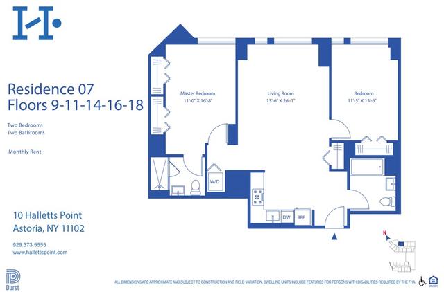 2 Bedrooms, Astoria Rental in NYC for $4,810 - Photo 2