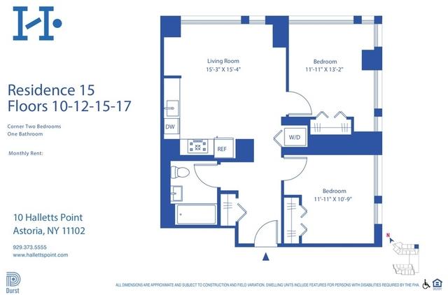 2 Bedrooms, Astoria Rental in NYC for $3,932 - Photo 2