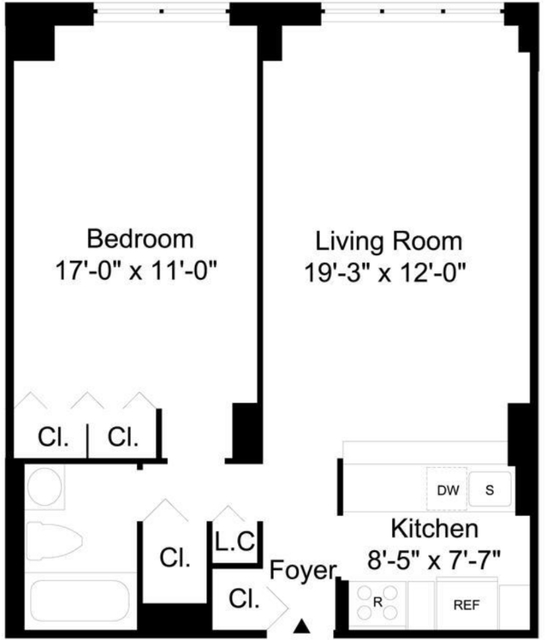 Studio, Turtle Bay Rental in NYC for $4,000 - Photo 2