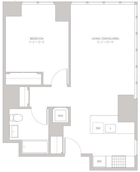 1 Bedroom, Long Island City Rental in NYC for $3,295 - Photo 2