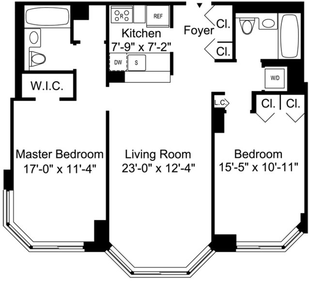 2 Bedrooms, Murray Hill Rental in NYC for $6,295 - Photo 2