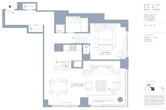1 Bedroom, Yorkville Rental in NYC for $4,995 - Photo 2