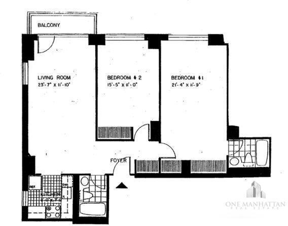 2 Bedrooms, Turtle Bay Rental in NYC for $6,000 - Photo 2