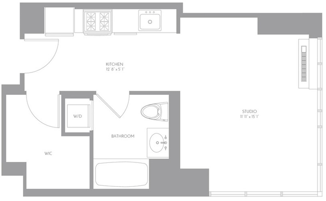 Studio, Murray Hill Rental in NYC for $2,542 - Photo 2