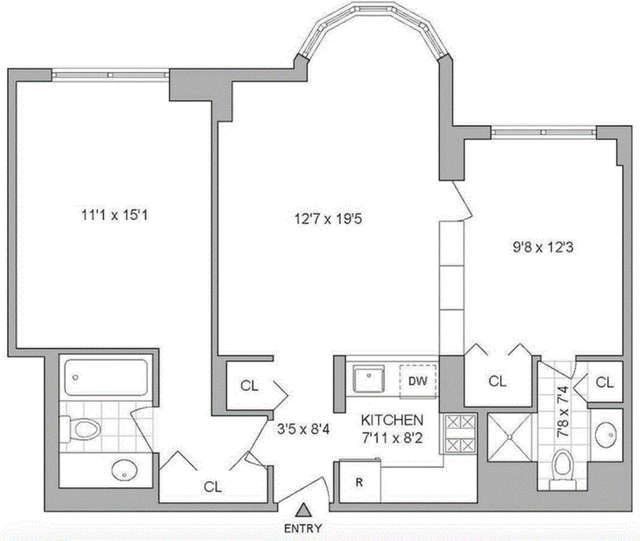 1 Bedroom, Turtle Bay Rental in NYC for $5,400 - Photo 2