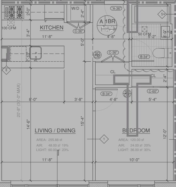 1 Bedroom, Bedford-Stuyvesant Rental in NYC for $2,345 - Photo 2