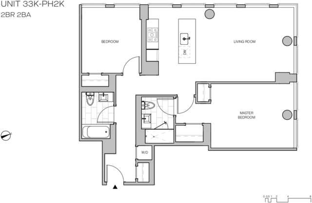 2 Bedrooms, Williamsburg Rental in NYC for $6,995 - Photo 2