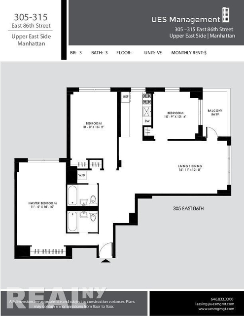 4 Bedrooms, Yorkville Rental in NYC for $6,412 - Photo 2