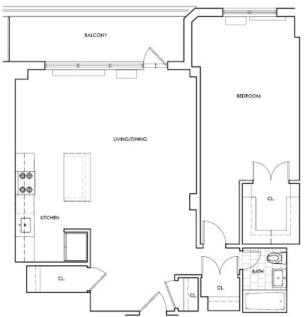 1 Bedroom, Upper West Side Rental in NYC for $4,217 - Photo 2