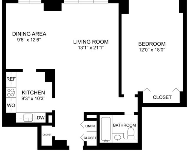 1 Bedroom, Spuyten Duyvil Rental in NYC for $2,450 - Photo 2