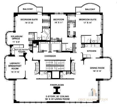 7 Bedrooms, Midtown East Rental in NYC for $30,000 - Photo 1