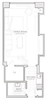 Studio, Turtle Bay Rental in NYC for $2,735 - Photo 2
