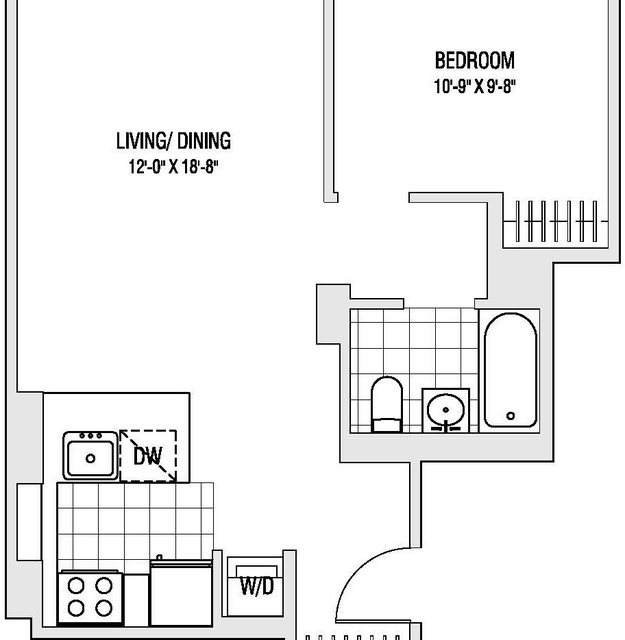 1 Bedroom, Downtown Brooklyn Rental in NYC for $3,069 - Photo 2