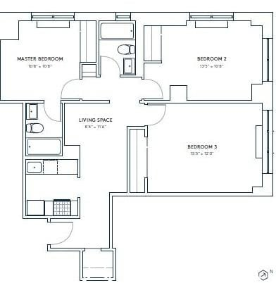 3 Bedrooms, Hell's Kitchen Rental in NYC for $5,440 - Photo 2