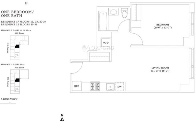 1 Bedroom, Hell's Kitchen Rental in NYC for $4,100 - Photo 2