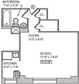 Studio, East Village Rental in NYC for $3,100 - Photo 2