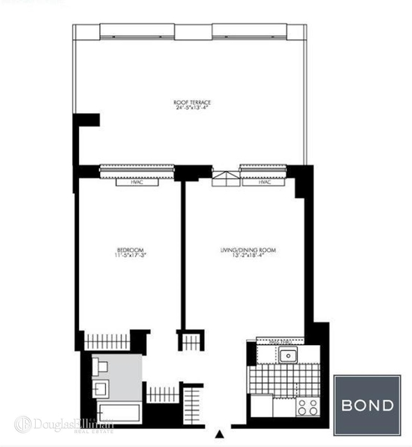 1 Bedroom, Rose Hill Rental in NYC for $4,560 - Photo 2