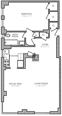 1 Bedroom, Theater District Rental in NYC for $5,354 - Photo 2