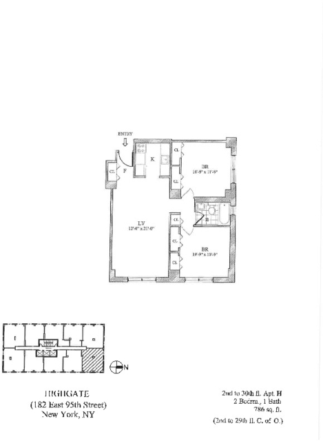 2 Bedrooms, Upper East Side Rental in NYC for $3,975 - Photo 2